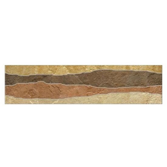 Listwa gresowa Fossile Slate multi 39,6x9,8