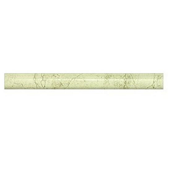 Płytka ścienna cygaro Aspazja zielona 25x2,5