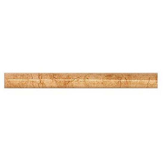 Płytka ścienna cygaro Aspazja brąz 25x2,5