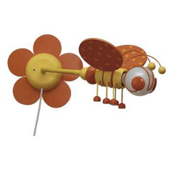 Kinkiet dziecięcy Pszczółka 0302.04 pomarańczowo-żółty Klik