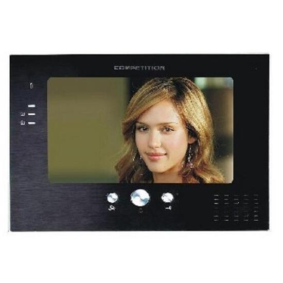 Monitor do videodomofonu głośnomówiący 7'' LCD panoramiczny MT373C-K2 Competition