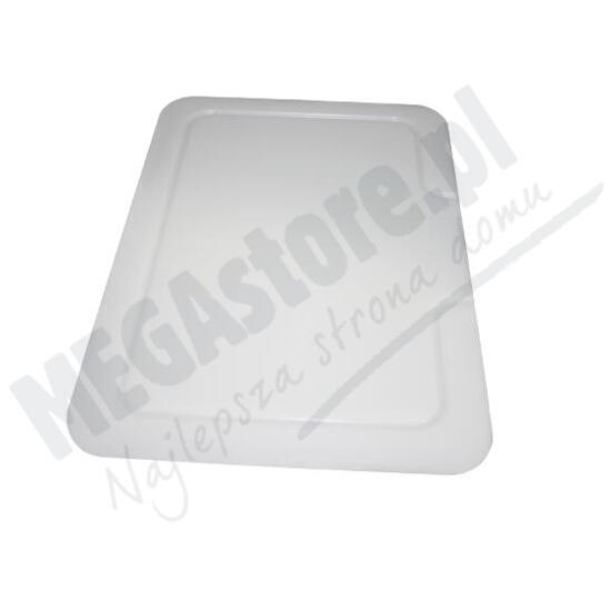 Deska do zlewozmywaków biała 44x30cm do zlewozmywaków granitowych 070121701 Pyramis