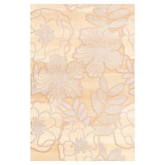 Płytka ścienna Carisma beige inserto kwiatek 33,3x50