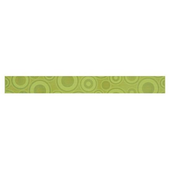 Płytka ścienna Synthia verde listwa koło 5,3x50 Cersanit
