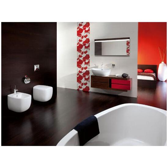 Szafka łazienkowa wisząca KIOTO czerwony OS-502-005