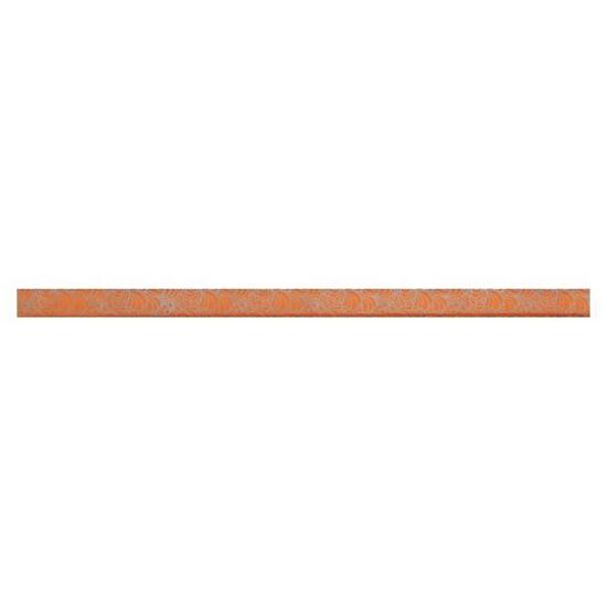 Płytka ścienna Synthia orange listwa szklana 2,5x50