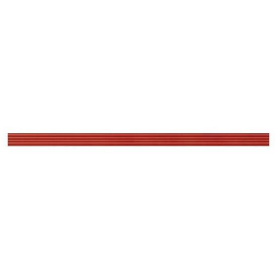 Płytka ścienna Oxia red listwa szklana 2,5x50