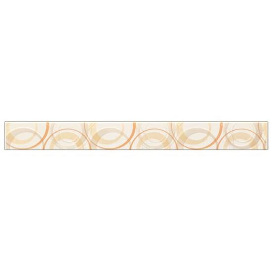 Płytka ścienna koła 4,8x45 Atola bianco/ orange