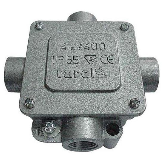 Puszka instalacyjna 5t 4mm2 4xP13,5 Tarel