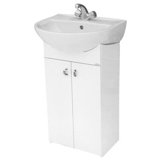 Szafka podumywalkowa BIANCO DSM pod umywalkę meblową PRESIDENT 45 S509-009-DSM