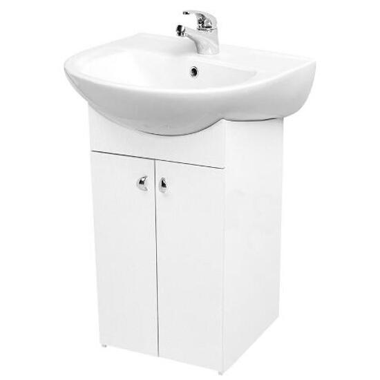 Szafka podumywalkowa BIANCO DSM pod umywalkę meblową PRESIDENT 55 S509-011-DSM