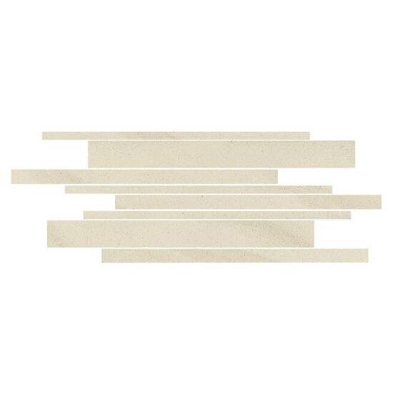 Mozaika Kando bianco paski 14,7x41