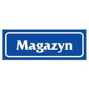 """Znak informacyjny """"Magazyn"""" Z-R21-F rozm. 90x240 ANRO"""