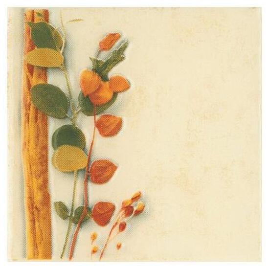 Płytka ścienna Cucina beige motyw foresta pnącze 10x10