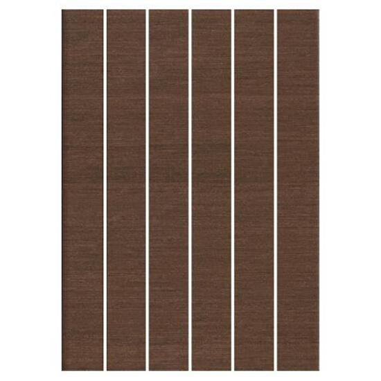 Mozaika Tenera brown paski 25x35