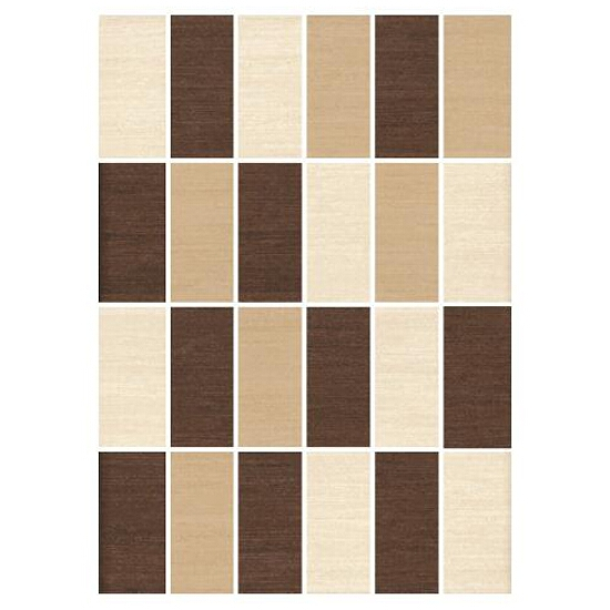Mozaika Tenera mix beige/siena/brown prostokąt 25x35