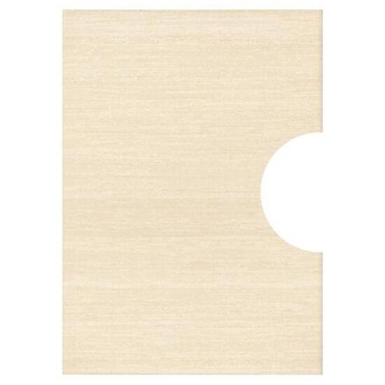 Płytka ścienna Tenera beige pod inserto otwór kółko 25x35