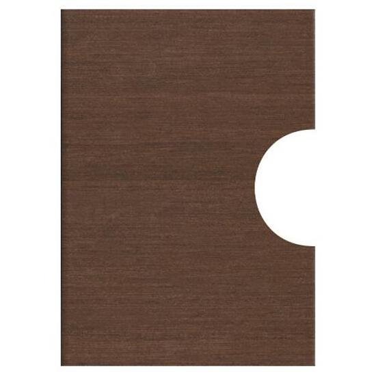 Płytka ścienna Tenera brown pod inserto otwór kółko 25x35