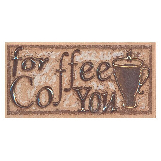 Płytka ścienna Sagra noce listwa coffee 5x10