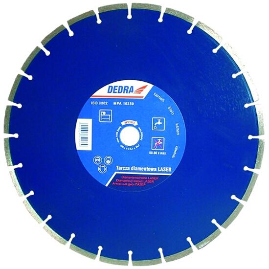 Diamentowa tarcza tnąca Laser GRANIT 300/25,4 H1162 Dedra