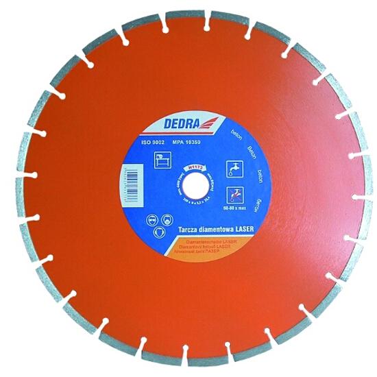 Diamentowa tarcza tnąca Laser BETON 300/25,4 H1172 Dedra