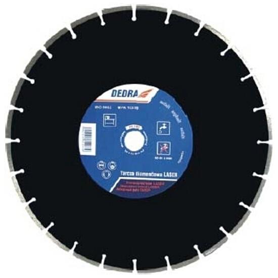 Diamentowa tarcza tnąca Laser ASFALT 450/25,4 H1185 Dedra