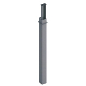 Kolumna dwustr. K2 2950/4000/1500 aluminium AKS Zielonka