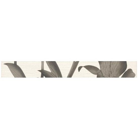 Płytka ścienna Sottile Silver listwa drukowana 4,8x40 Paradyż