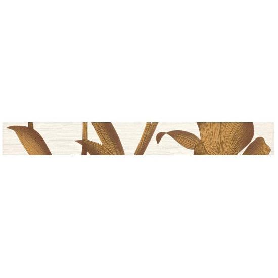 Płytka ścienna Sottile Gold listwa drukowana 4,8x40 Paradyż