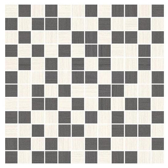 Mozaika Sottile Bianco/Grafit Mix 29,8x29,8 Paradyż