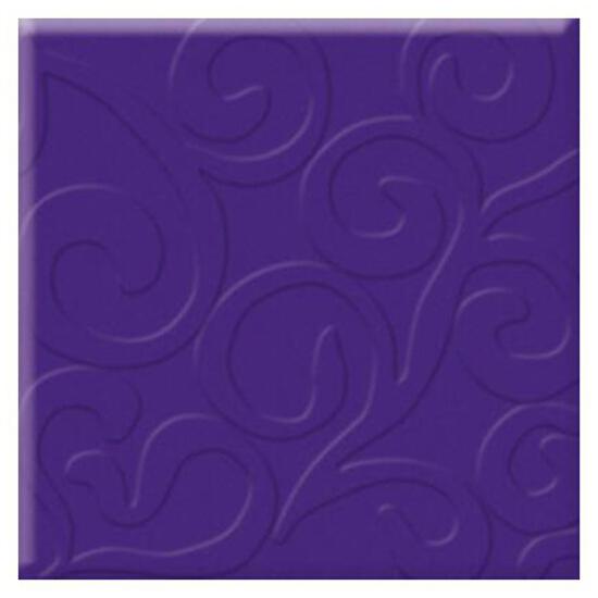 Płytka ścienna Vermilia Ultrafiolet inserto szklane A 9,8x9,8 Paradyż