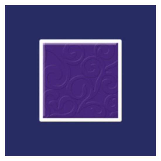 Płytka ścienna Vermilia Ultrafiolet inserto szklane Mix C 9,8x9,8 Paradyż