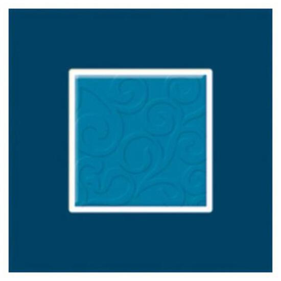 Płytka ścienna Vermilia Azzurro inserto szklane Mix C 9,8x9,8 Paradyż