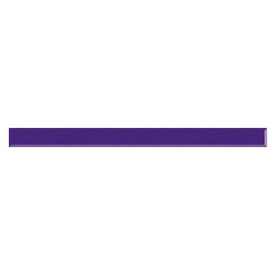 Płytka ścienna Vermilia Ultrafiolet listwa szklana 1,5x19,8 Paradyż