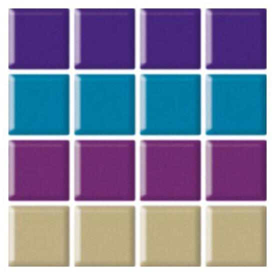 Mozaika Vermilia Mix 9,8x9,8 Paradyż