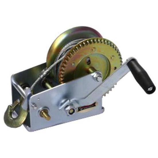 Wyciągarka korbowa ręczna DWK 2500 z liną stalową Dragon Winch