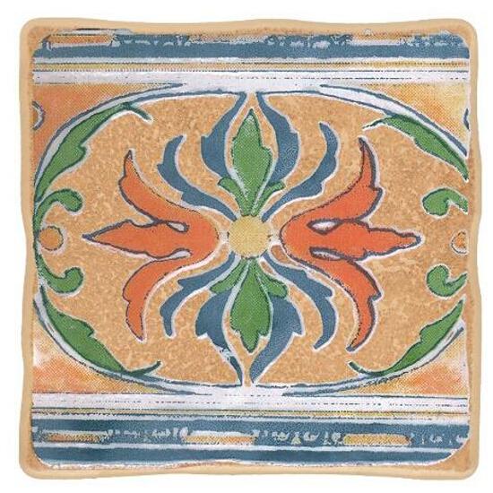 Płytka ścienna Viking orange motyw cottage 3 10x10