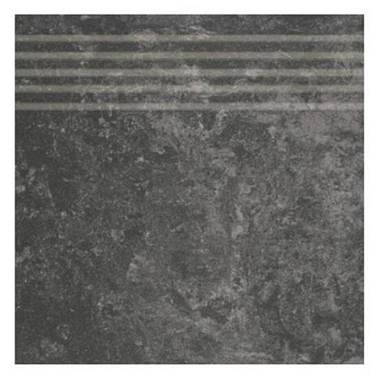 Gres Calabria nero stopnica 29,55x29,55
