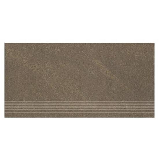 Gres Kando brown stopnica 29,55x59,4