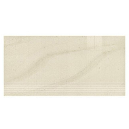 Gres Kando bianco stopnica poler 29,55x59,4
