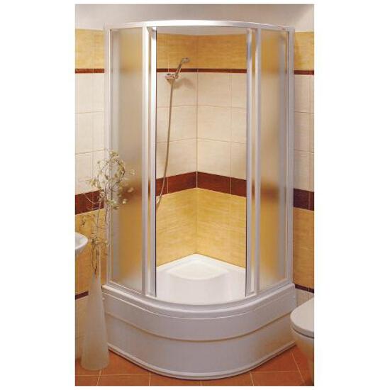 Kabina prysznicowa półokrągła SUPERNOVA SKCP4-90 SABINA szkło grape 31177V100ZG Ravak