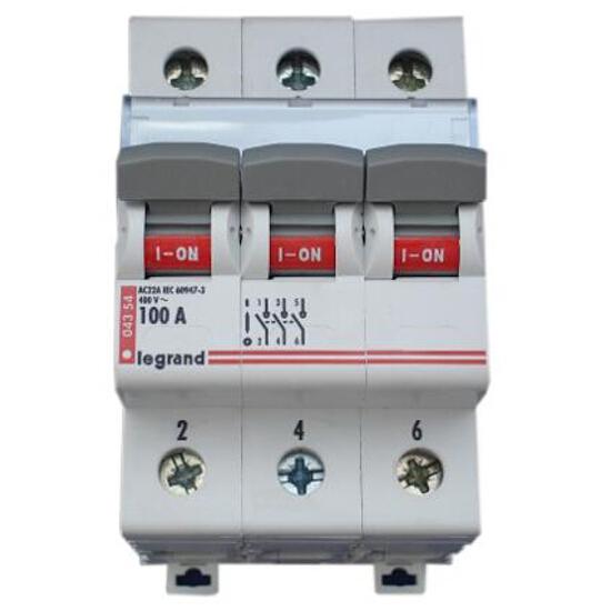 Rozłącznik bezpiecznikowy 100A FR 303 406469 Legrand
