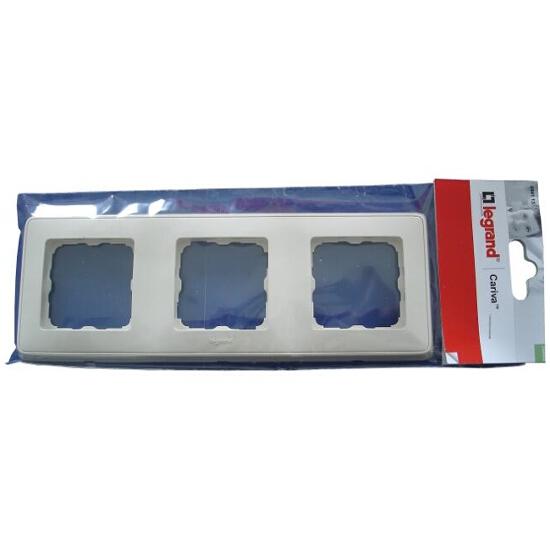 Ramka CARIVA potrójna 773653 biały Legrand
