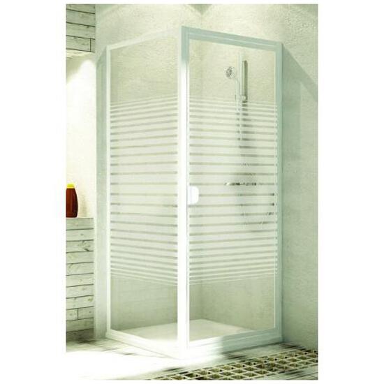Drzwi prysznicowe ELBA 90 uchylne 103-26508 Aquaform