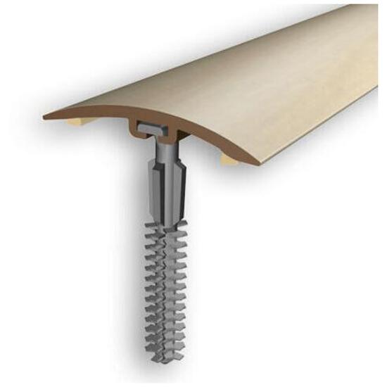 Listwa wyrównująca 42mm PVC klon 16 dł. 2m D-P0200-16-200 Myck