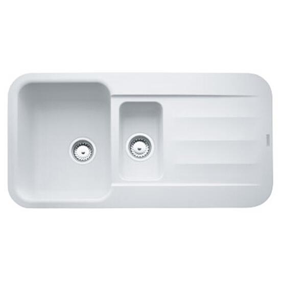 Zlewozmywak Pebble PBG 651 970x500mm Biały polarny 114.0259.579 Franke
