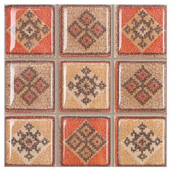 Gres Real Cotto krem mosaic kostka 8,8x8,8