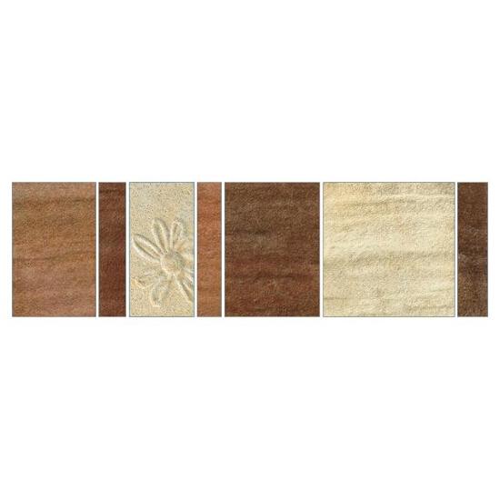 Listwa gresowa Real Cotto krem mosaic b 29,7x8,8