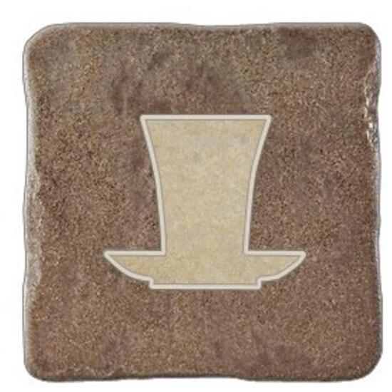 Gres centro Real Stone brąz tea 2 10,9x10,9