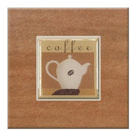 Gres centro Real Cotto orange coffee 3 10,9x10,9